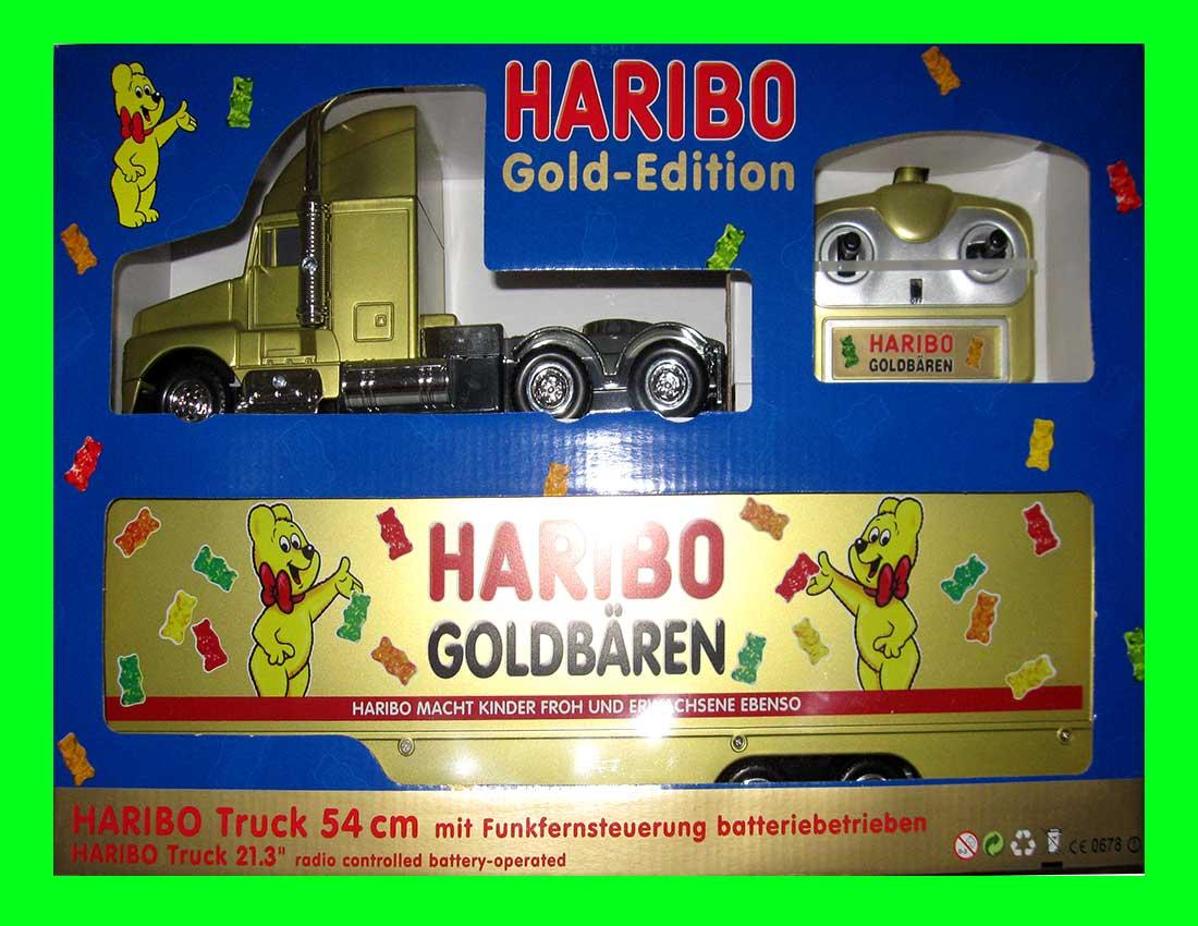 neu haribo truck 54cm gold edition ferngesteuert rc ebay. Black Bedroom Furniture Sets. Home Design Ideas