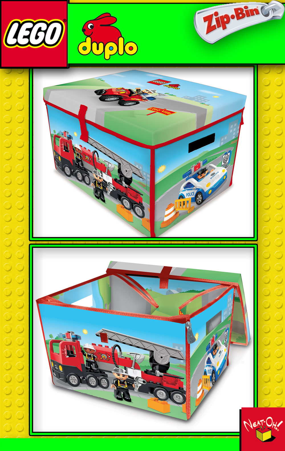 Lego Duplo Playmat Table Storage Case Box Carpet Ebay