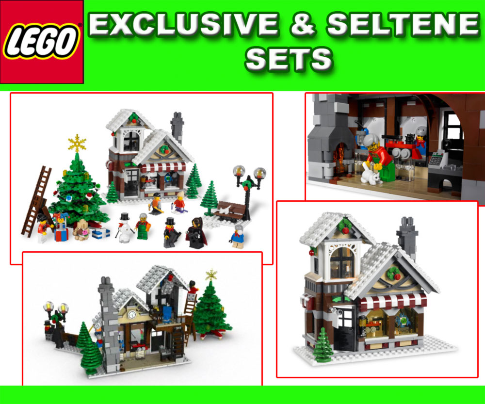 neu lego exclusiv 10199 weihnachtlicher spielzeugladen ebay. Black Bedroom Furniture Sets. Home Design Ideas