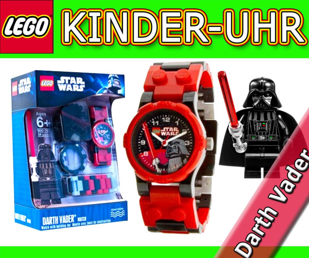 neu lego star wars armbanduhr mit minfigur darth vader uhr kinderuhr kids watch ebay. Black Bedroom Furniture Sets. Home Design Ideas