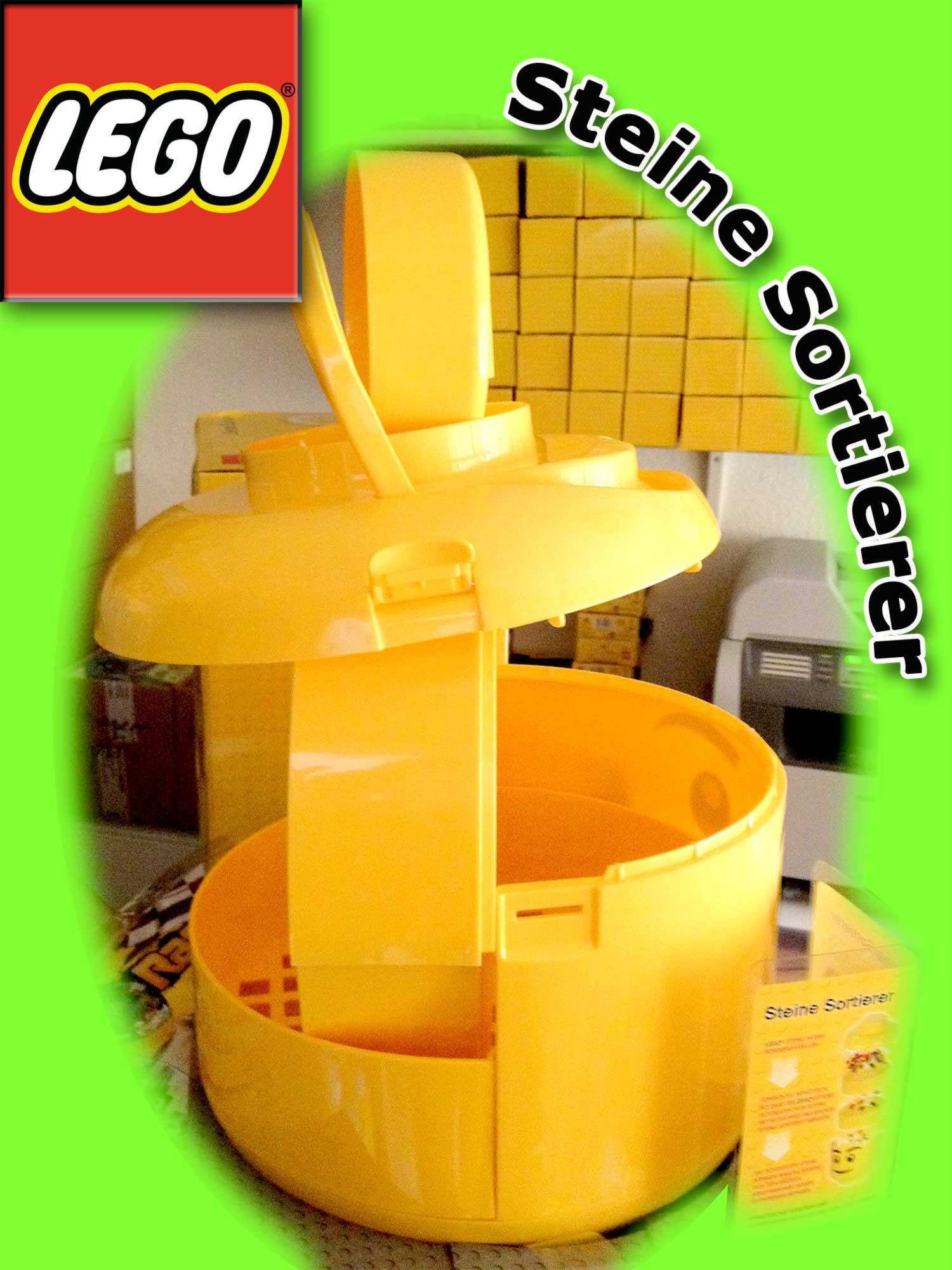 lego steine sortierer eimer sort store xxl kopf. Black Bedroom Furniture Sets. Home Design Ideas