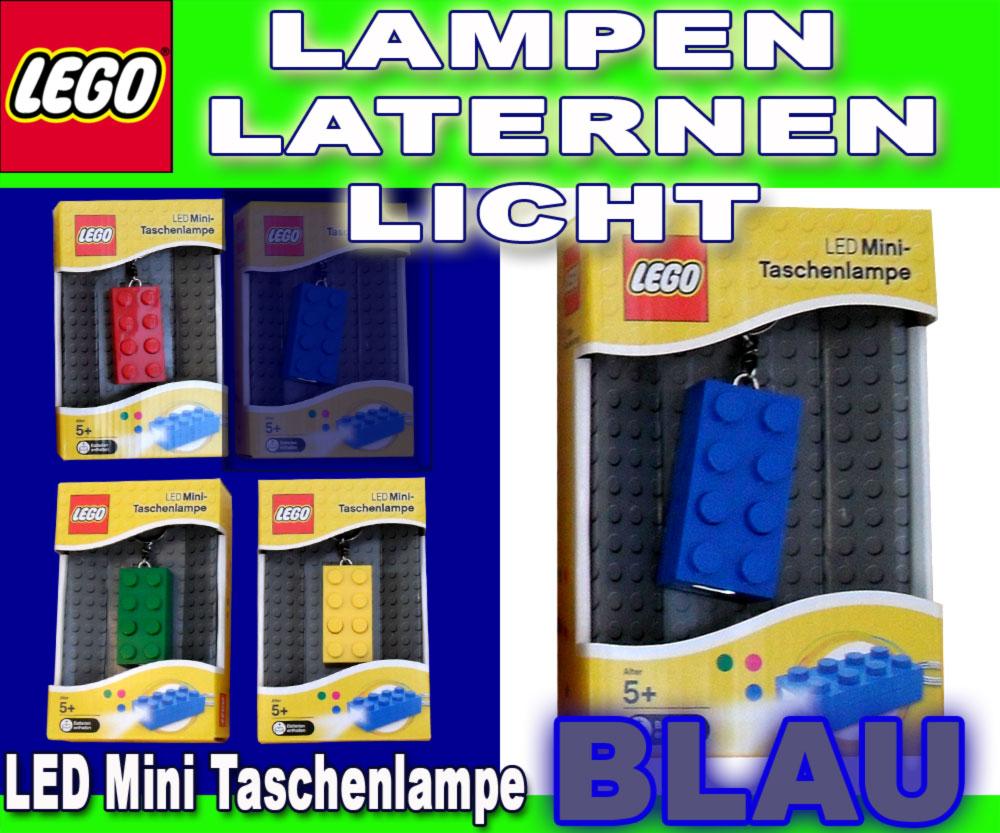 lego lights mini taschenlampe schl sselanh nger blau ebay. Black Bedroom Furniture Sets. Home Design Ideas