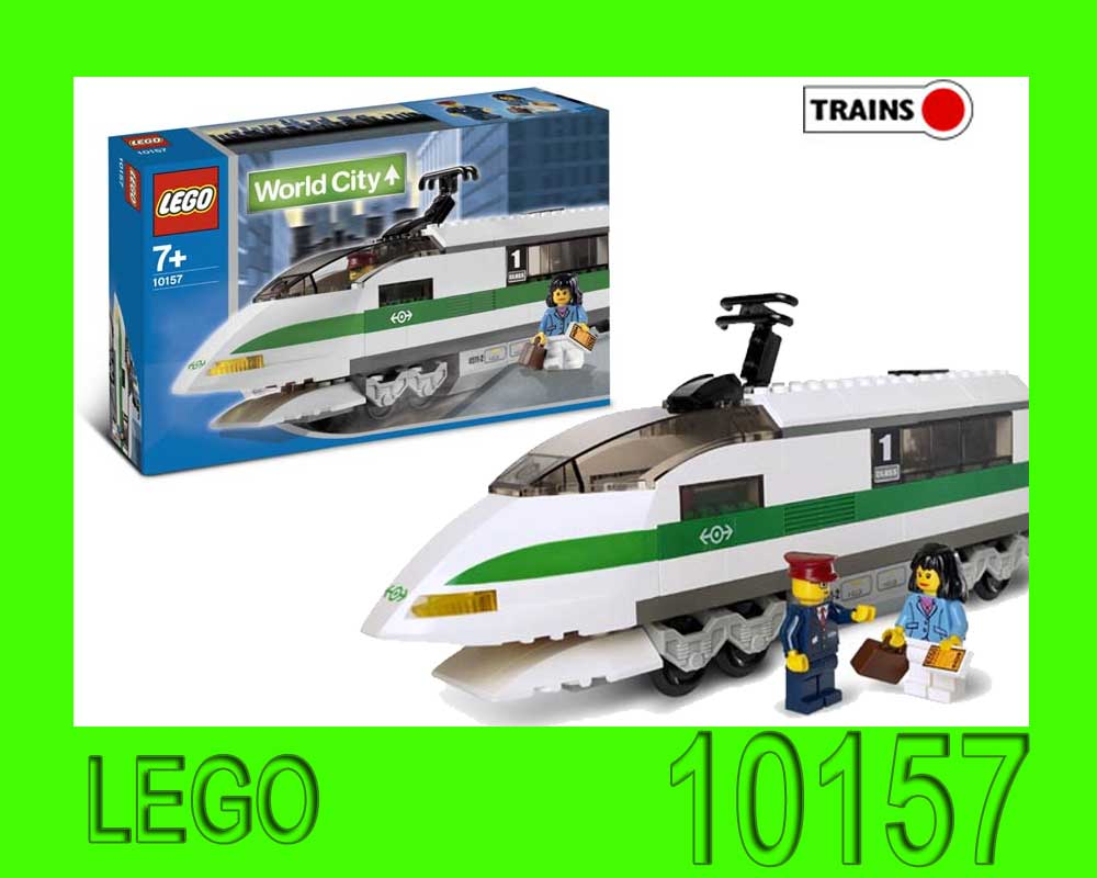 neu lego city 10157 eisenbahn lokomotive my own train ebay. Black Bedroom Furniture Sets. Home Design Ideas
