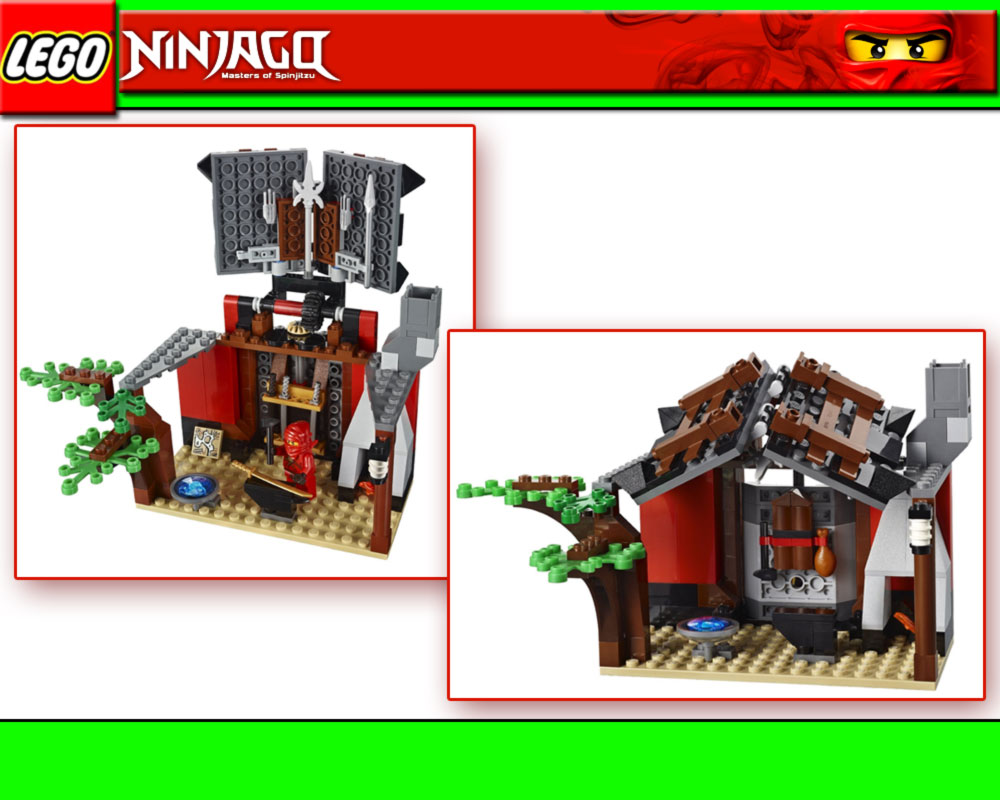 lego ninjago 2508 geheime schmiede werkstatt kai kruncha. Black Bedroom Furniture Sets. Home Design Ideas