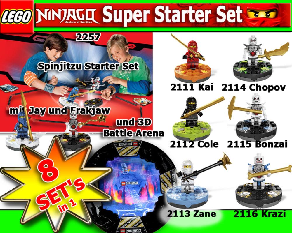 lego ninjago 2111 2112 2113 2114 2115 2116 2257 arena ebay. Black Bedroom Furniture Sets. Home Design Ideas