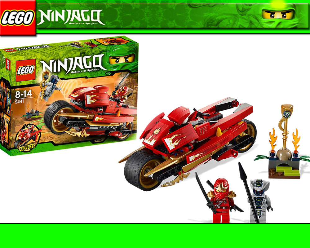 lego ninjago motorrad