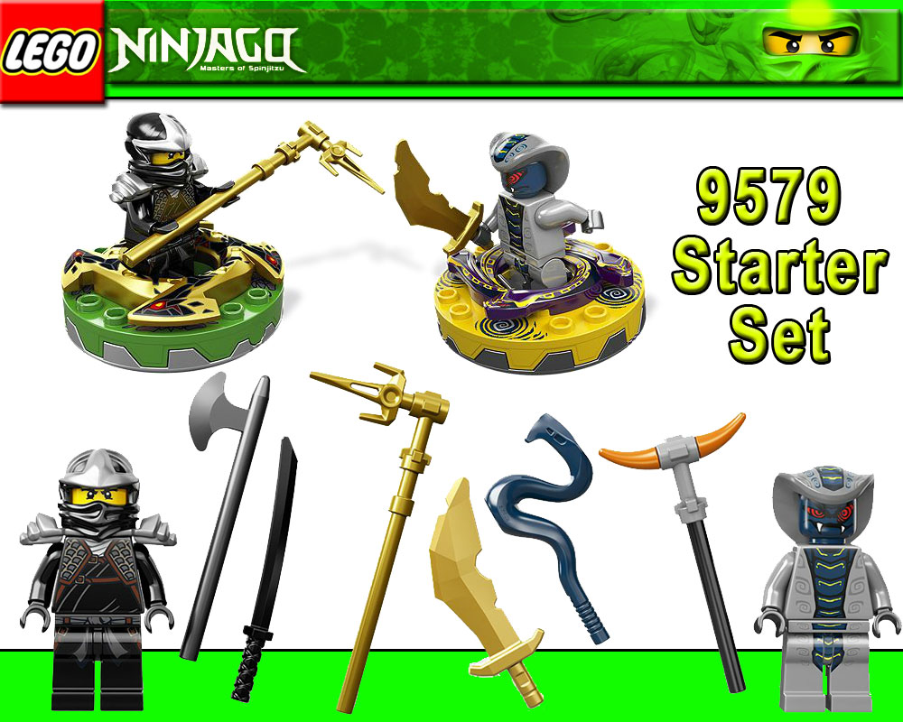 lego ninjago 9579 starter set masters of spinjitzu cole zx. Black Bedroom Furniture Sets. Home Design Ideas