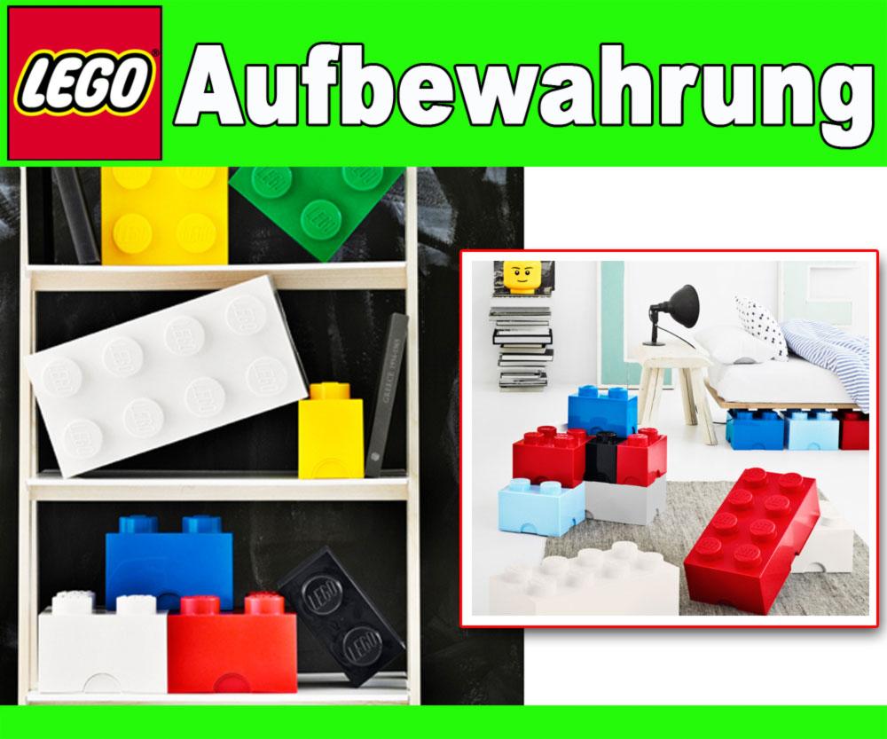 lego storage brick 4 8er stein xxl aufbewahrungsdose kiste box stapelbar noppe ebay. Black Bedroom Furniture Sets. Home Design Ideas