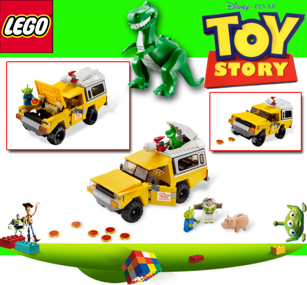 Lego toy story 3 disney 7598 pizza planet lastwagen ebay - Lego toys story ...