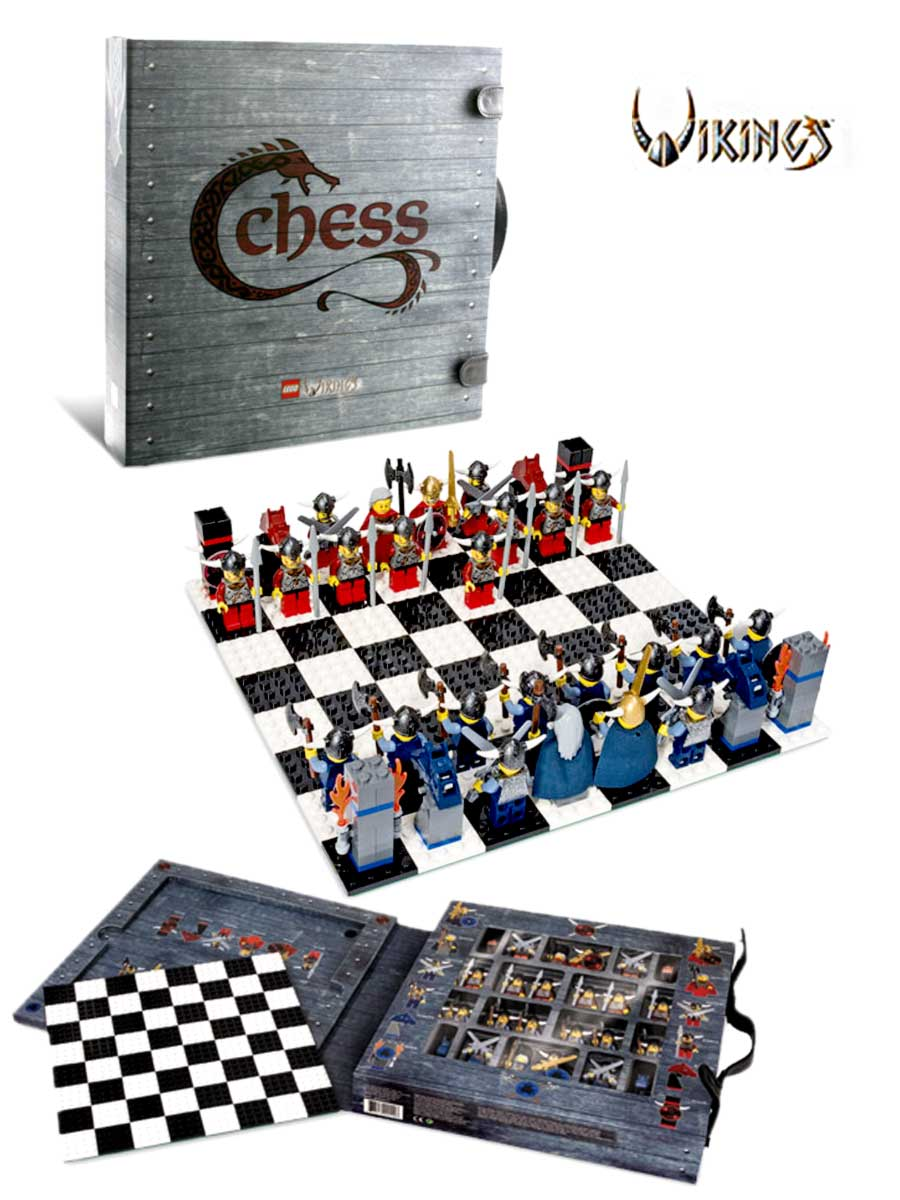 neu lego g577 wikinger schach vikings chess 179 teile ebay. Black Bedroom Furniture Sets. Home Design Ideas