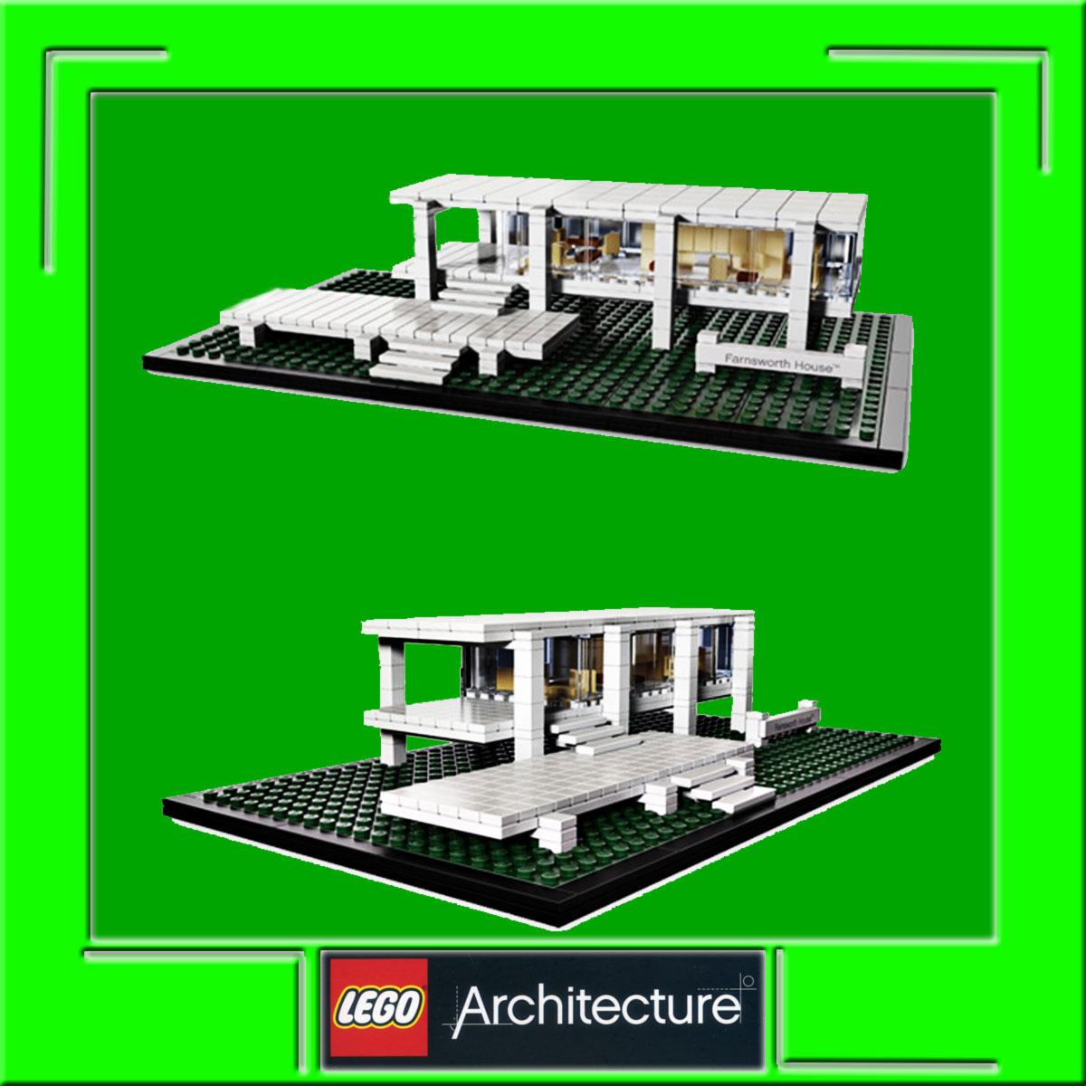 Lego Architecture Farnsworth House New Build