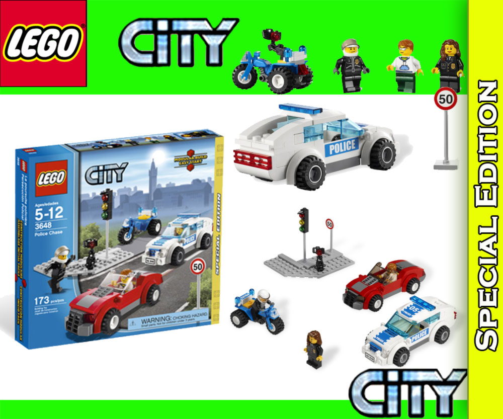 neu lego city 3648 verfolgungsjagd radarkontrolle ebay. Black Bedroom Furniture Sets. Home Design Ideas