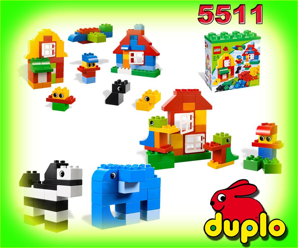 neu lego duplo 5511 xxl steine box steinebox trommel 200. Black Bedroom Furniture Sets. Home Design Ideas