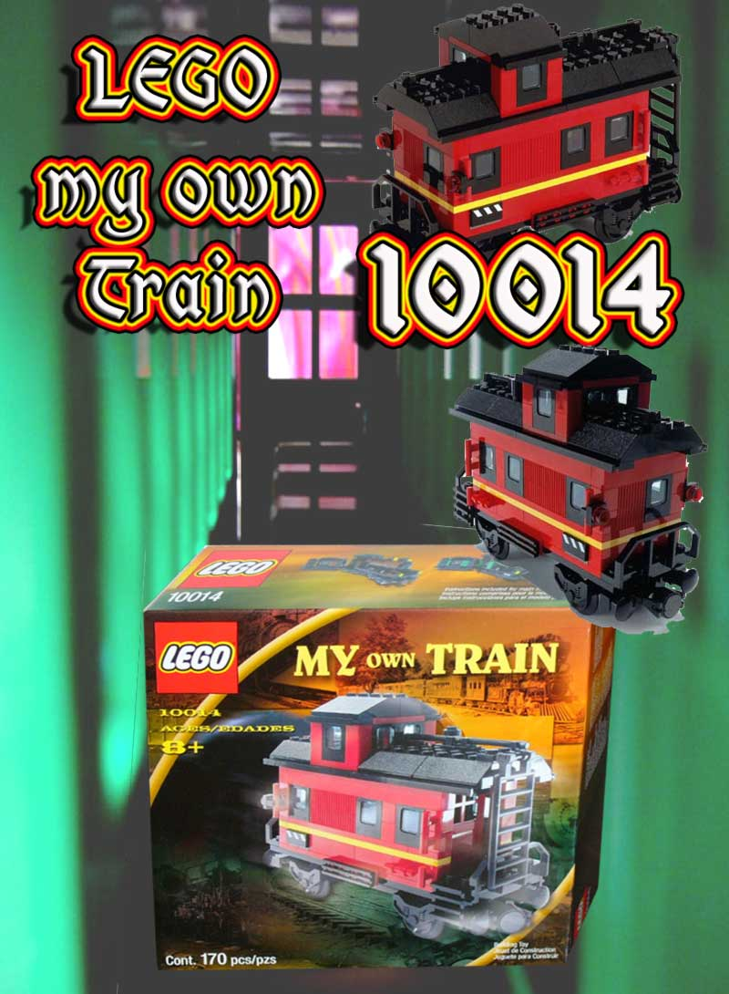 neu lego my own train 10014 dienstwagen begleitwagen ebay. Black Bedroom Furniture Sets. Home Design Ideas