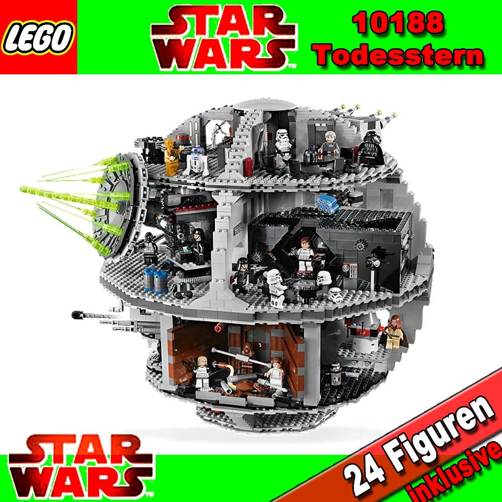 lego star wars exclusive 10188 death star bnisb new ebay. Black Bedroom Furniture Sets. Home Design Ideas