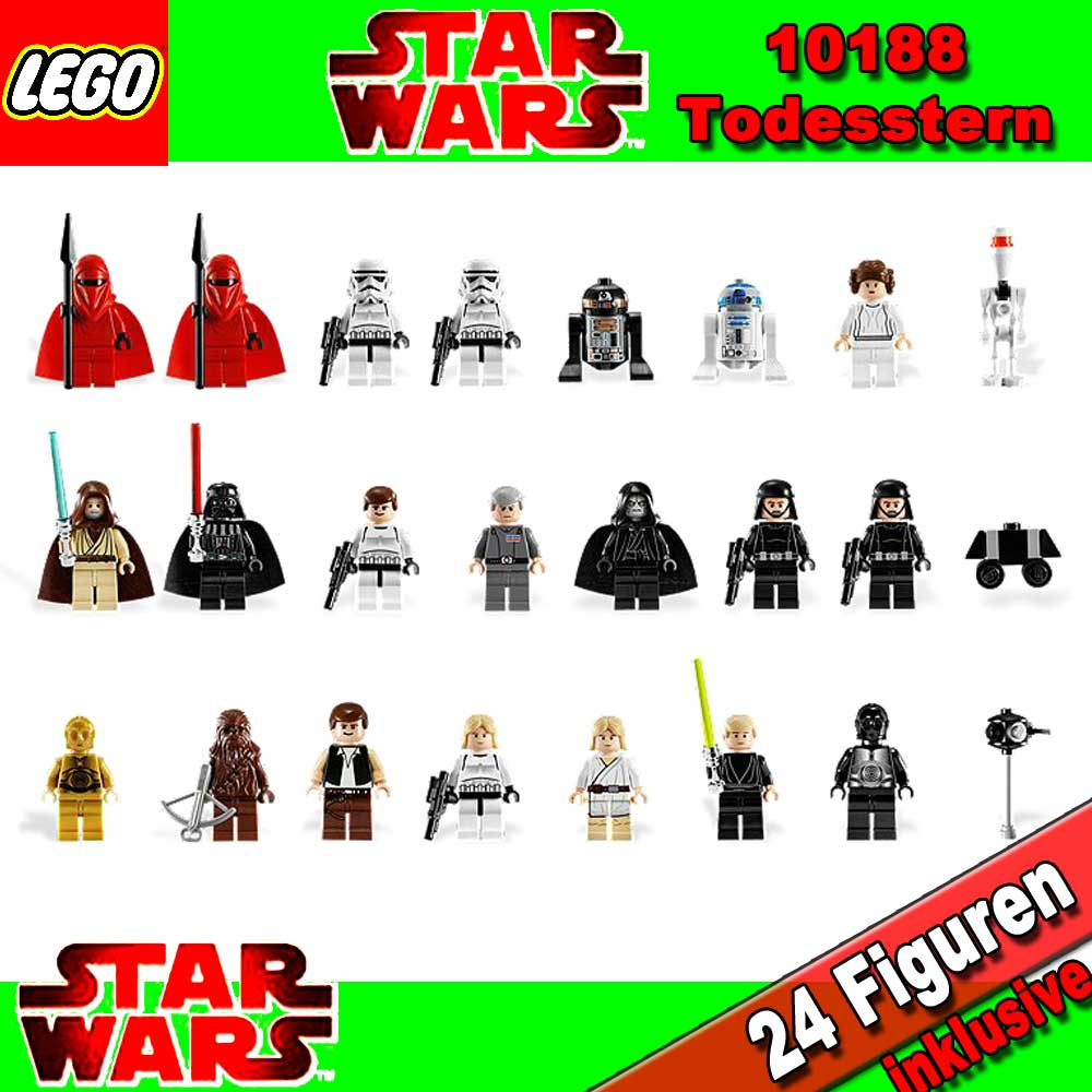 neu lego star wars exclusiv 10188 todesstern death star. Black Bedroom Furniture Sets. Home Design Ideas