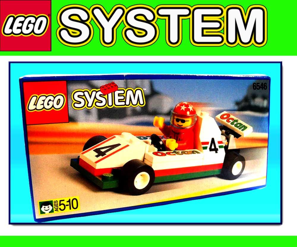 neu lego system 6546 formel 1 auto wagen rennauto ebay. Black Bedroom Furniture Sets. Home Design Ideas