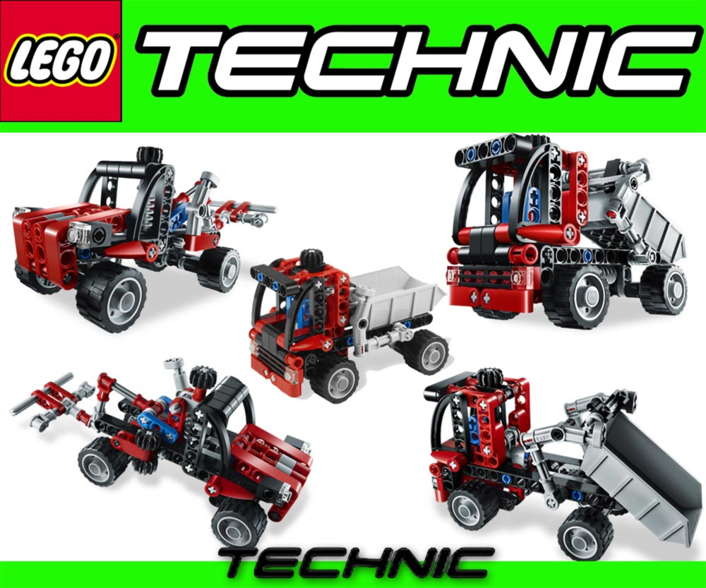 lego technik 2in1 kipplaster 8065 technic lkw kipper ebay. Black Bedroom Furniture Sets. Home Design Ideas
