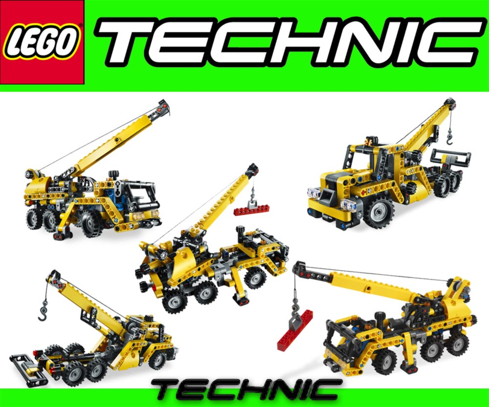 lego technic 8067 mobiler kran abschlepper bergungsfahr. Black Bedroom Furniture Sets. Home Design Ideas