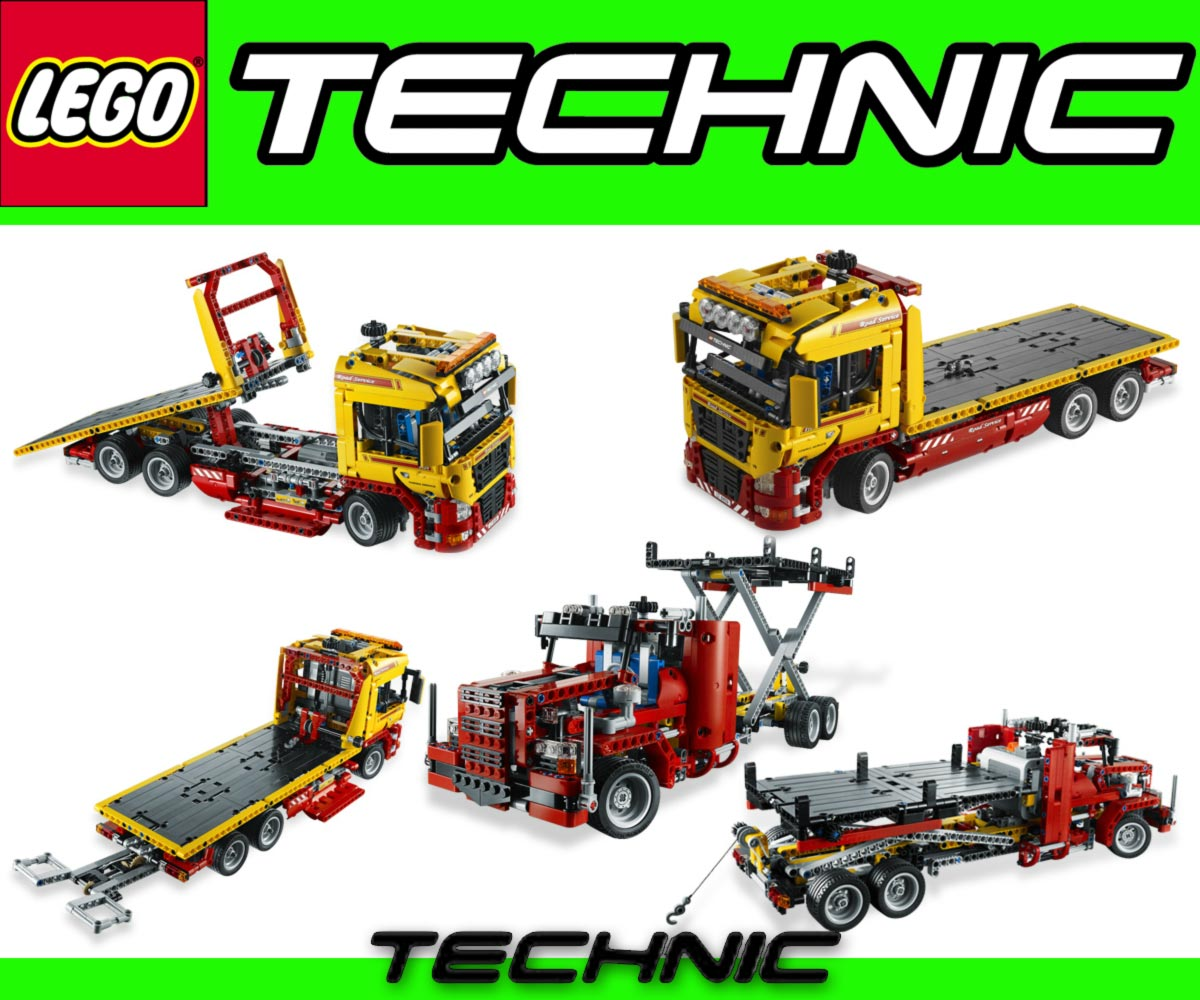 lego technic 8109 camion semi remorque 2in1 power functions. Black Bedroom Furniture Sets. Home Design Ideas