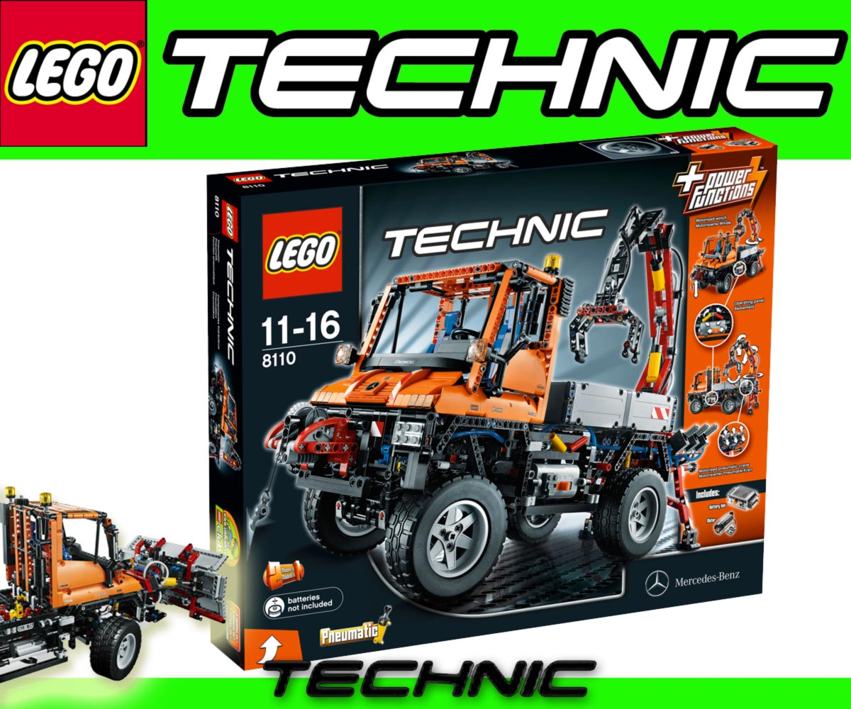 costruzioni 39 lego technic 39 camion con gru u 400 mercedes unimog misb ebay. Black Bedroom Furniture Sets. Home Design Ideas