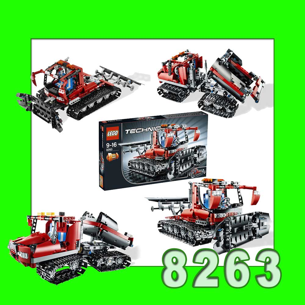 lego technic unimog 8110 raupe 8263 8043 bike 8051 truck. Black Bedroom Furniture Sets. Home Design Ideas