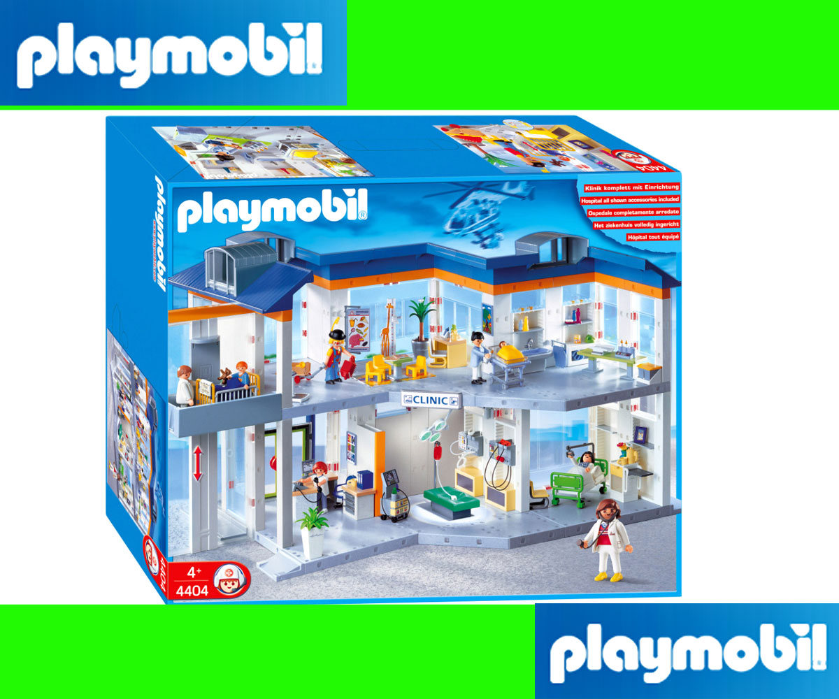 Playmobil hospital 4404 instructions for Playmobil post