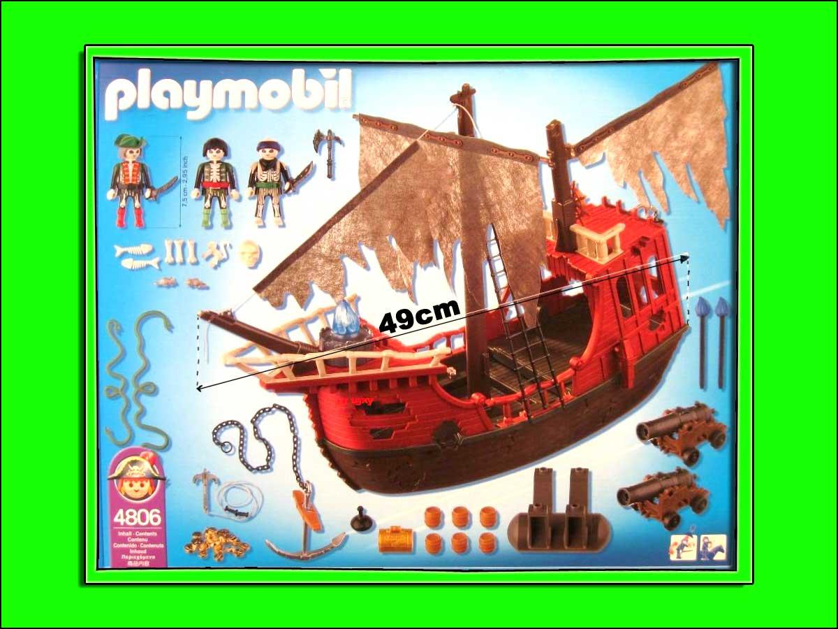 Neuf playmobil 4806 bateau des pirates fant mes ebay - Playmobil pirate fantome ...