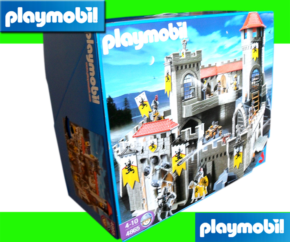 playmobil 4865 large knights lions castle new ebay. Black Bedroom Furniture Sets. Home Design Ideas
