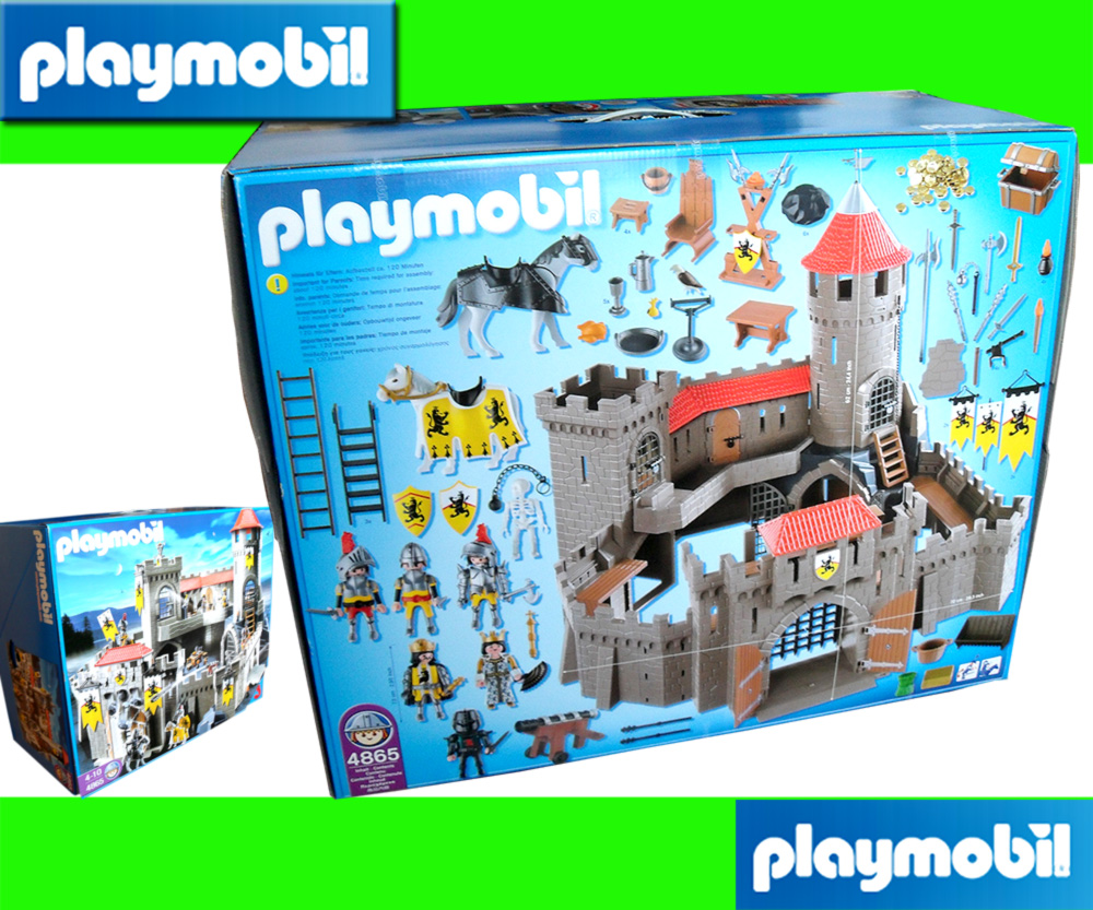 playmobil 4865 lion knight s empire castle new 2011 ebay. Black Bedroom Furniture Sets. Home Design Ideas