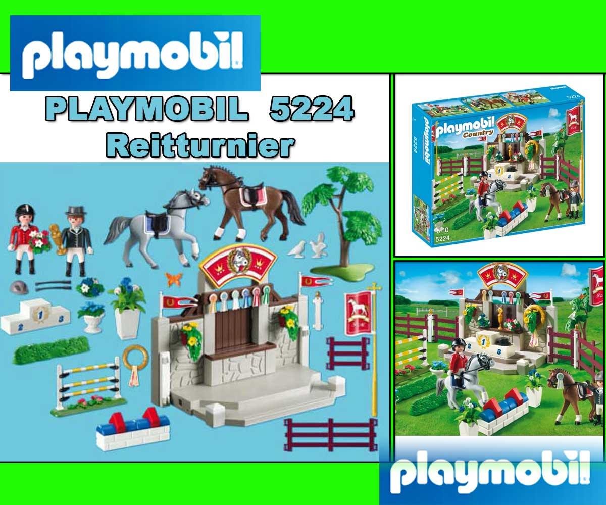 Pin playmobil country 5222 ranch avec chevaux on pinterest - Pferde playmobil ...