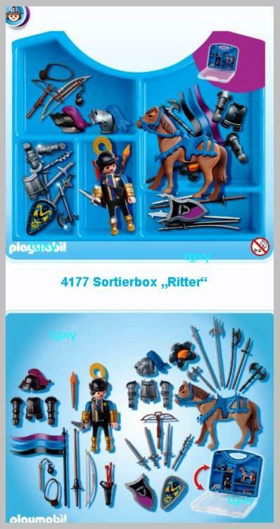 Playmobil 4177 Ritter Ritterkoffer Ergänzung Zu Ritterburg 4866 4865