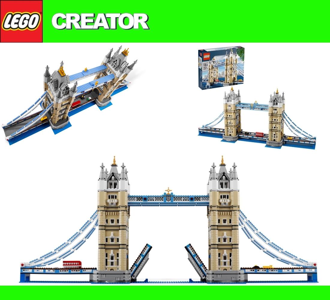 new exclusiv lego 10214 london tower bridge 4295pcs hard. Black Bedroom Furniture Sets. Home Design Ideas
