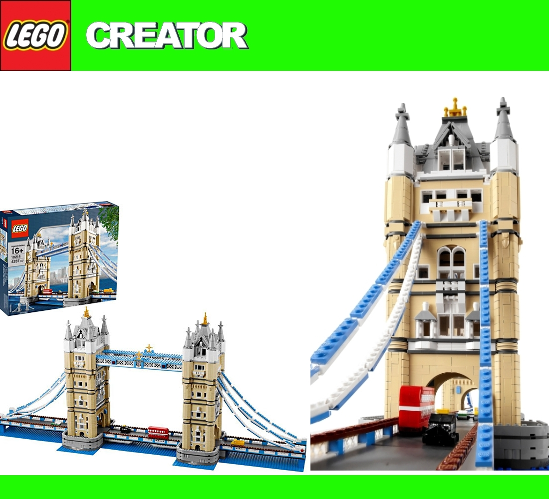 lego exclusive 10214 tower bridge london towerbridge new. Black Bedroom Furniture Sets. Home Design Ideas