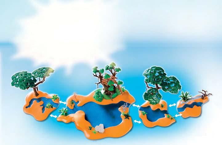 playmobil safari 4in1 waterhole river oasis 4827 4828 4829 4830 animals africa ebay. Black Bedroom Furniture Sets. Home Design Ideas