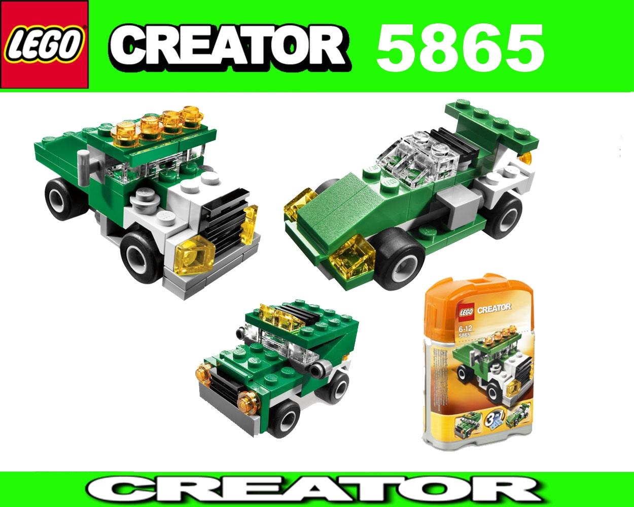 lego creator 5865 3in1 mini laster mini dumper vehicle. Black Bedroom Furniture Sets. Home Design Ideas