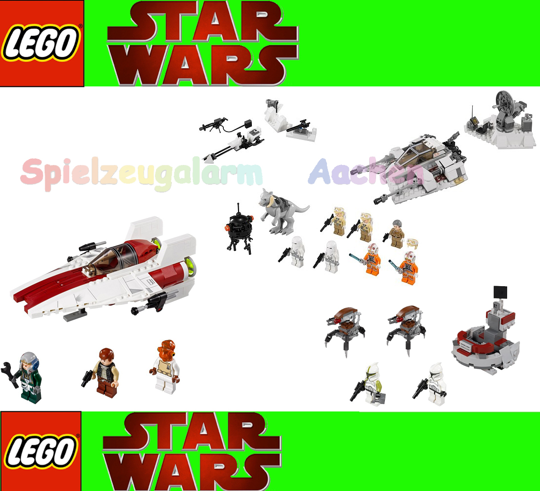 itm LEGO in star wars  CLONE policiers Battle Of Hoth