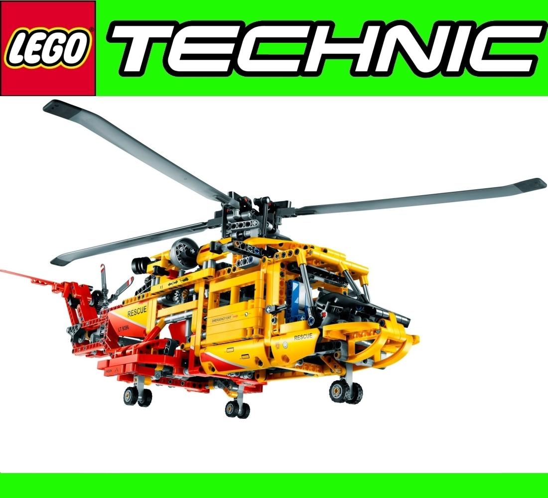 lego technic 9396 9398 helicopter 4x4 all wheel offroader. Black Bedroom Furniture Sets. Home Design Ideas