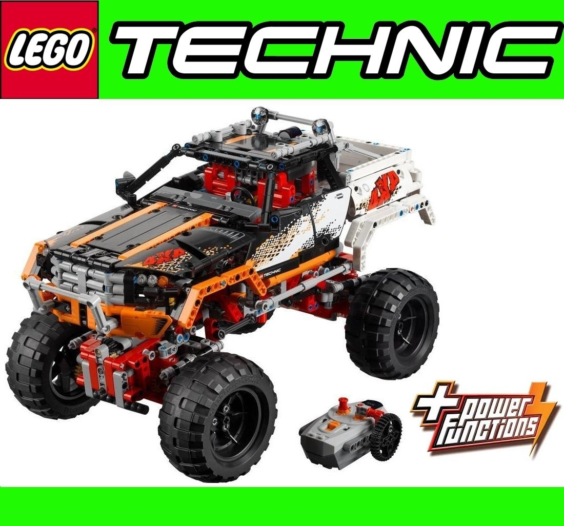lego technic off road car plus 9 x duracell batteries. Black Bedroom Furniture Sets. Home Design Ideas