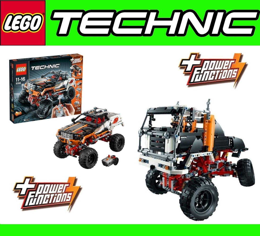 lego technic 9398 2in1 rc offroader or 4x4 crawler power. Black Bedroom Furniture Sets. Home Design Ideas