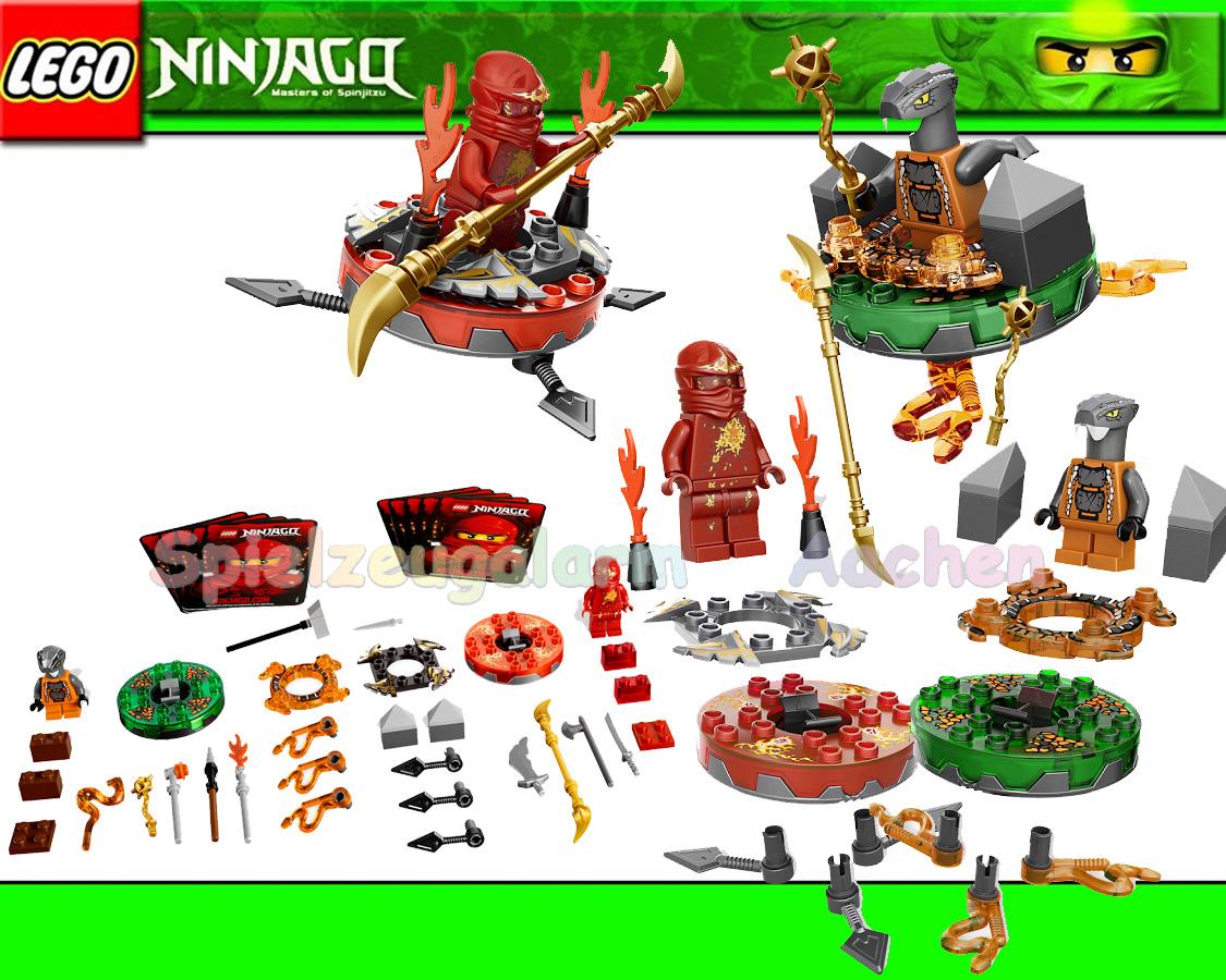 neu lego ninjago battle pack 9591 chokun kai ninja des feuers weapon pack binsb ebay. Black Bedroom Furniture Sets. Home Design Ideas