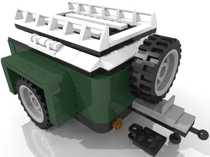 lego set 10242 mini cooper cabrio van gep ck anh nger gr n erweiterungsset ebay. Black Bedroom Furniture Sets. Home Design Ideas