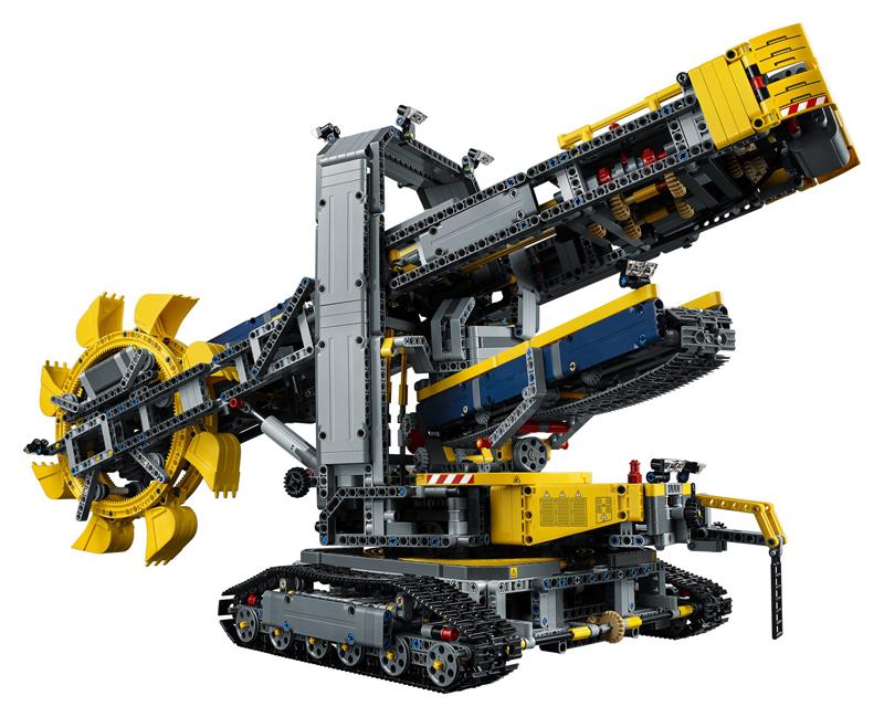 lego technic 42053 42054 42055 schaufelradbagger xerion. Black Bedroom Furniture Sets. Home Design Ideas