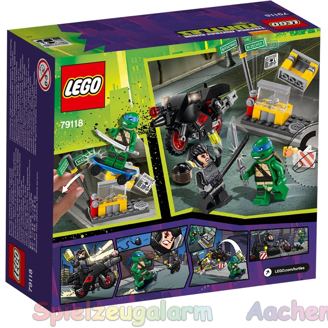 lego ninja turtles spiele