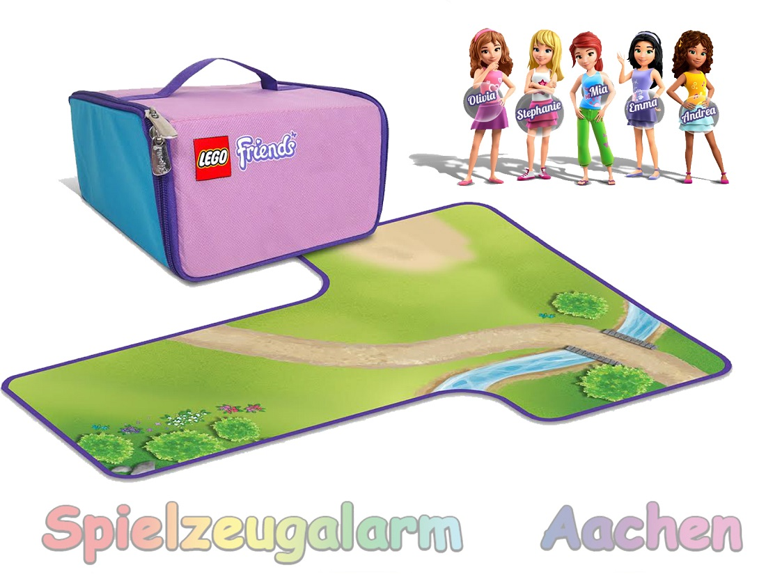 Lego Friends Heartlake Case Playmat Toy Box Carpet Neath