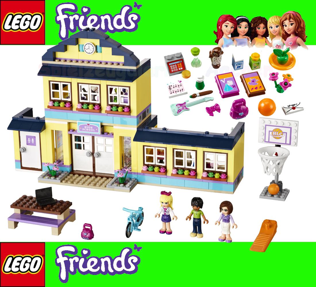 Lego friends 41005 scuola heartlake l 39 cole de city stephanie matthew binsb ebay - Ecole lego friends ...