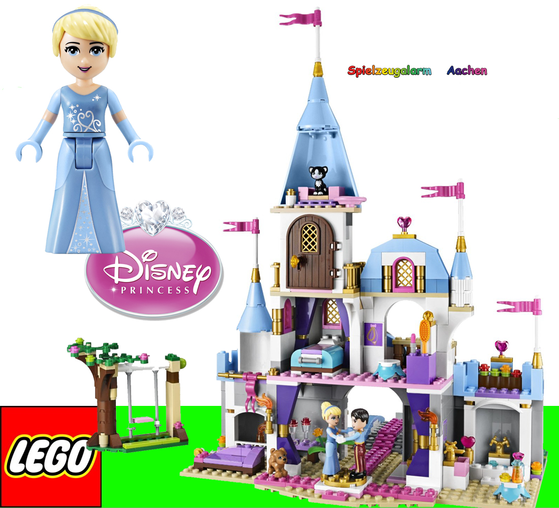 lego 41055 disney princess cinderellas prinzessinnenschloss romantic castle ovp ebay. Black Bedroom Furniture Sets. Home Design Ideas