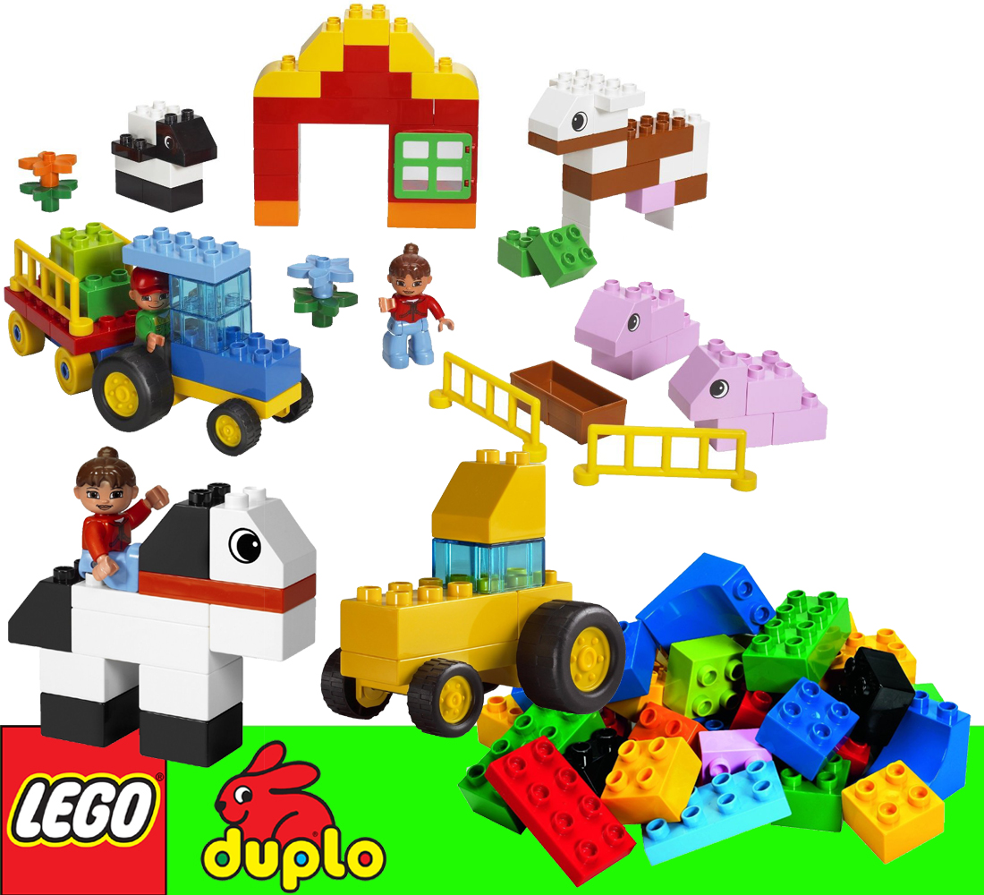 neu lego 5488 duplo ultimatives duplo bauernhof set farm. Black Bedroom Furniture Sets. Home Design Ideas