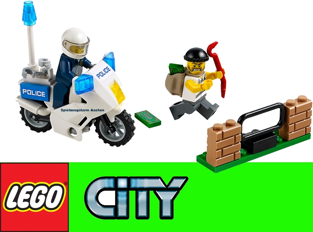 Lego City Polizei Set 60047 60046 60045 60044 60043 60042