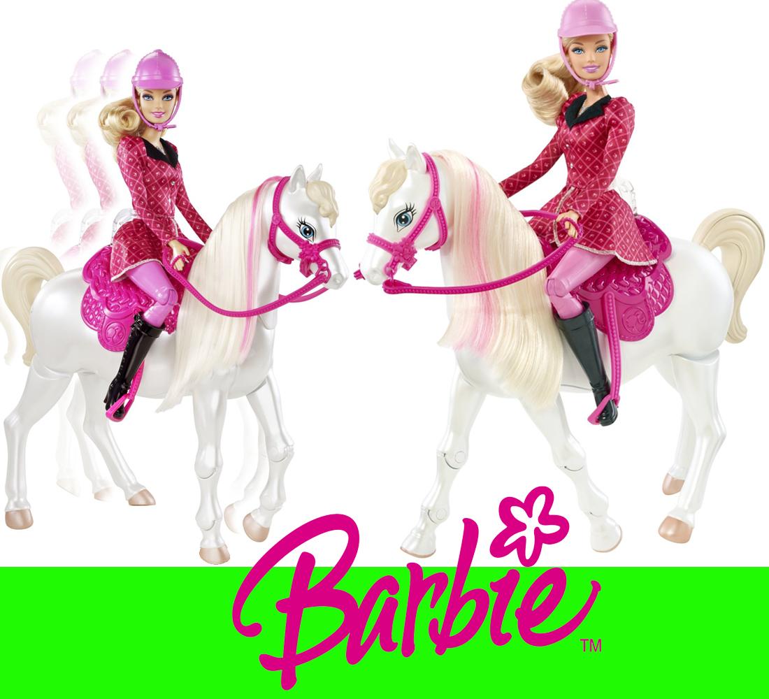 barbie mit dressurpferd gratis duracell schwestern im pferdegl ck y6858 ebay. Black Bedroom Furniture Sets. Home Design Ideas